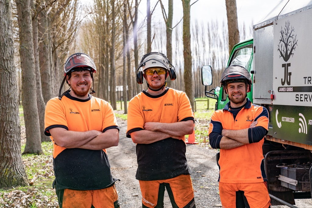 Our qualified team of arborists